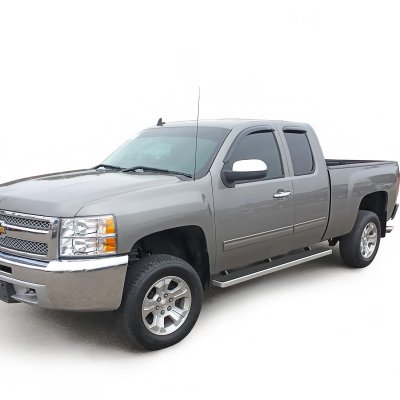 Running Boards For Chevy Silverado 2014 >> Chevy Silverado 2500HD Extended Cab 2007-2013 iBoard Running Boards Aluminum 5 Inches ...