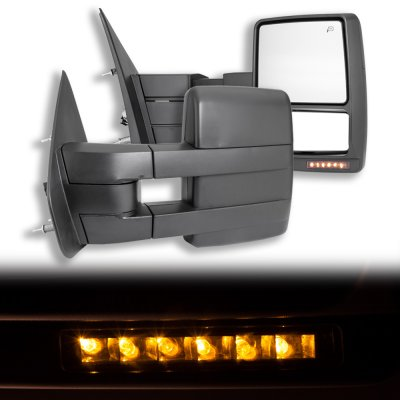 Ford F150 2004-2006 Towing Mirrors Power Heated LED Signal   A128D29G221 - TopGearAutosport