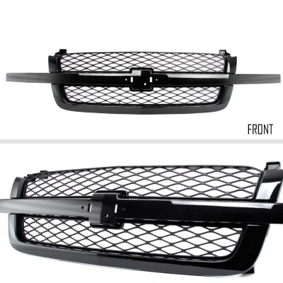 2005 chevy 2500 hd grill