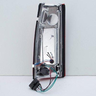 Cadillac Escalade 1999-2000 LED Tail Lights Black Chrome