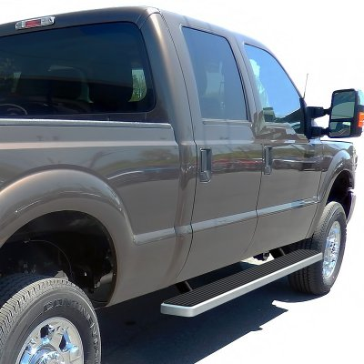 ford f350 super duty crew cab 2011 2016 running boards step bars aluminum 5 inches a127mkb0256. Black Bedroom Furniture Sets. Home Design Ideas