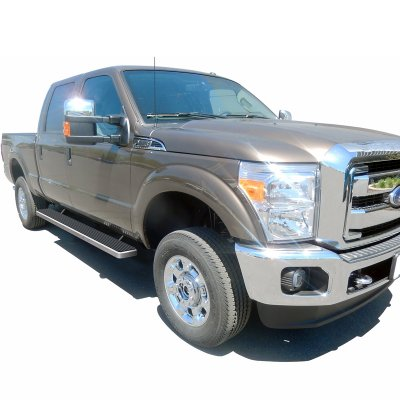 ford f350 super duty crew cab 2011 2016 running boards step bars aluminum 6 inches a127sfk7257. Black Bedroom Furniture Sets. Home Design Ideas