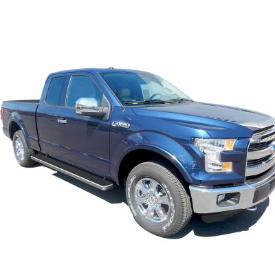 Ford F150 Supercab 2017 Running Boards Step Bars Aluminum 6 Inches