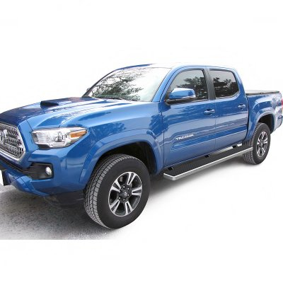 2017 Toyota Tacoma Running Boards >> Toyota Tacoma Double Cab 2016 2018 Iboard Running Boards Aluminum 5 Inches