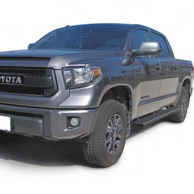 Toyota Tundra CrewMax 2014-2017 Running Boards Step Bars Black Aluminum 6 Inches | A1272UUW257 ...