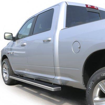 Dodge Ram 1500 Crew Cab 2009-2018 iBoard Running Boards Aluminum 5 Inches