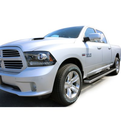 Dodge Ram 1500 Crew Cab 2009 2017 Iboard Running Boards Aluminum 6 Inches