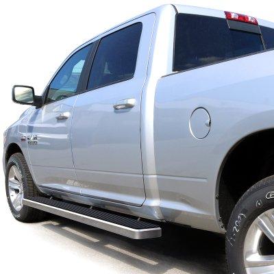 Dodge Ram 1500 Crew Cab 2009-2017 iBoard Running Boards Aluminum 6 Inches