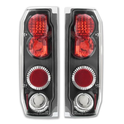 Ford Bronco 1989-1996 Black Altezza Tail Lights