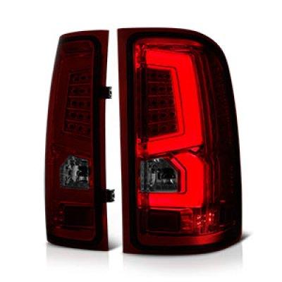 Gmc Sierra 1500 2007 2013 Custom Led Tail Lights Red