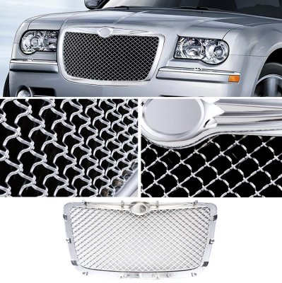 Chrysler 300 2005-2010 Chrome Mesh Grille
