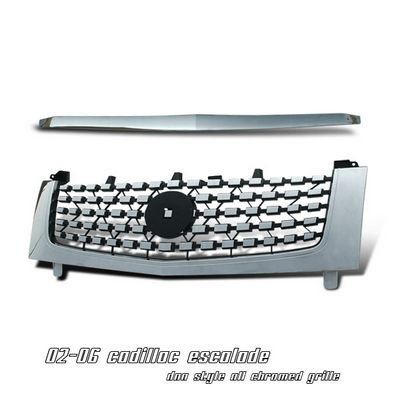 Cadillac Escalade 2002-2006 Chrome DNA Style Mesh Grille