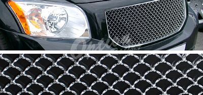 Dodge Caliber 2006-2010 Chrome Mesh Grille