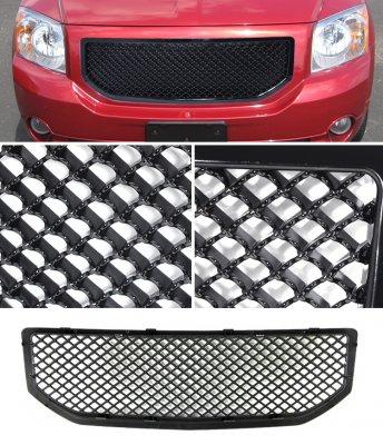 Dodge Caliber 2006-2008 Black Mesh Grille