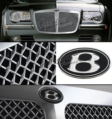 Chrysler 300 2005-2010 Chrome Bentley Style Mesh Grille