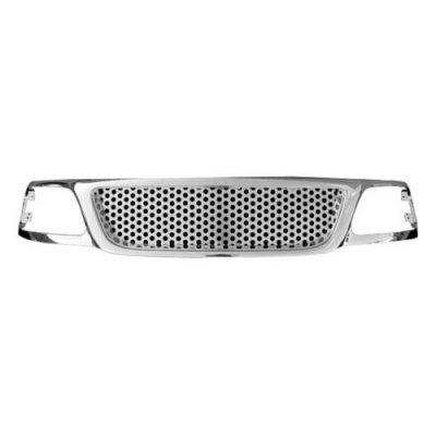 2002 Ford F150 Chrome Denali Style Mesh Grille