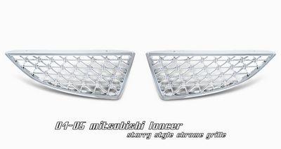 Mitsubishi Lancer 2004-2005 Chrome Mesh Grille