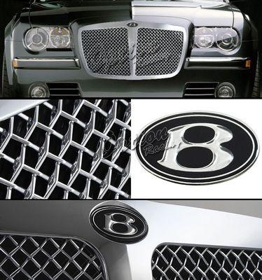 Chrysler 300C 2005-2008 Chrome Bentley Style Mesh Grille