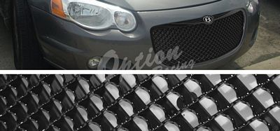 Chrysler Sebring Convertible 2005-2006 Black Mesh Grille
