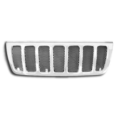 Jeep Grand Cherokee 1999-2004 Chrome Mesh Grille