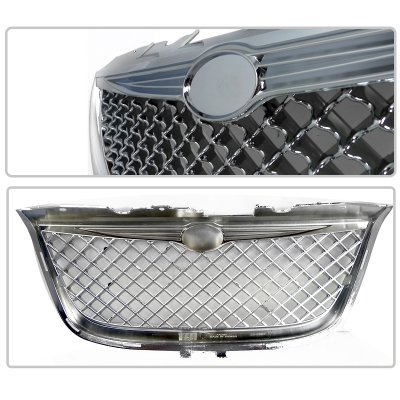 Chrysler 300M 1999-2004 Chrome Mesh Grille