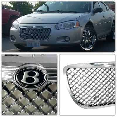 Chrysler Sebring 2004-2006 Chrome Mesh Grille
