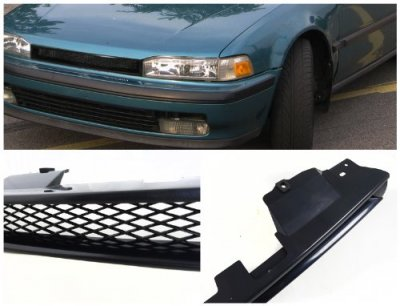 Honda Accord 1990-1993 Black Mesh Grille