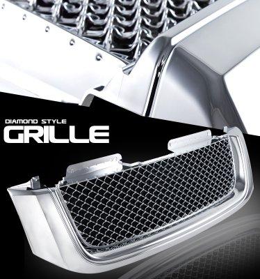 GMC Envoy 2002-2009 Chrome Mesh Grille