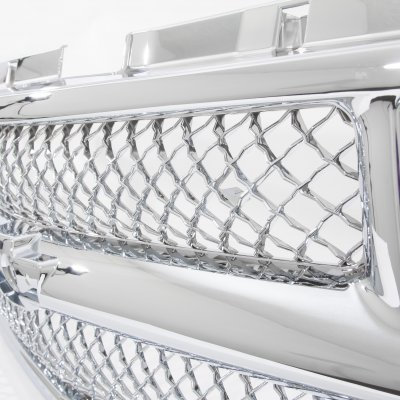 Used Chevy Tahoe >> Chevy Tahoe 1995-1999 Chrome Mesh Grille Shell ...