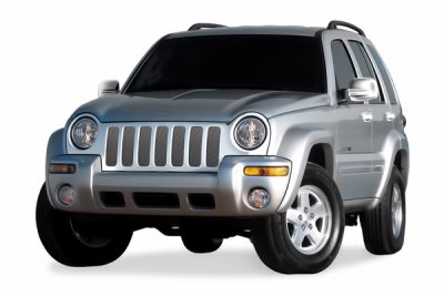 Jeep Liberty 2002-2004 Chrome Mesh Grille