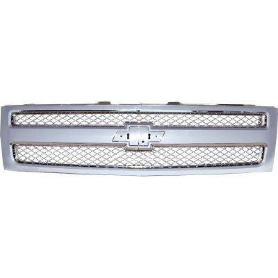 Chevy Silverado 2007-2013 Chrome Mesh Grille