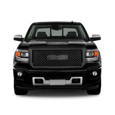 Dodge Ram Bull Bar >> GMC Sierra 1500 2014-2015 Gloss Black Grille | A133EOQB149 ...