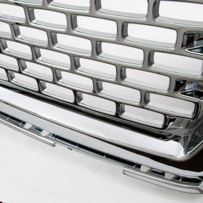 GMC Sierra 1500 2014-2015 Chrome Front Grill