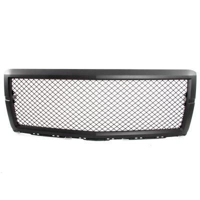 Chevy Silverado 1500 2014-2015 Front Grille Black Mesh