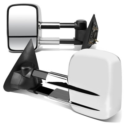 Ford F150 1997-2003 Chrome Towing Mirrors Power