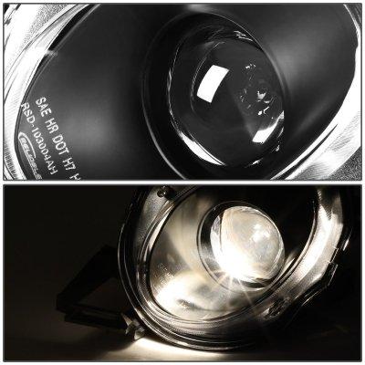 Lexus SC300 1992-1999 Black High Beam Projector Headlights