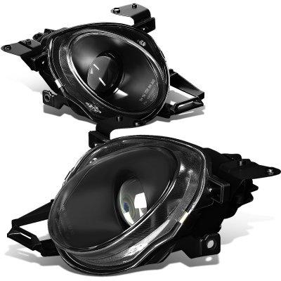 Lexus SC400 1992-1999 Black High Beam Projector Headlights