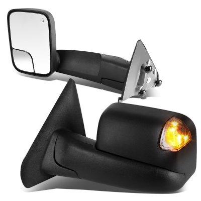 Dodge Ram 2500 2003 2009 Heated Towing Mirrors Smoked Signal Lights A135j6t5221 Topgearautosport