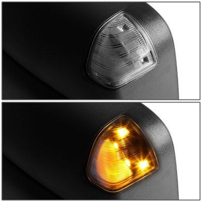 Dodge Ram 2500 2003 2009 Heated Towing Mirrors Smoked Signal Lights