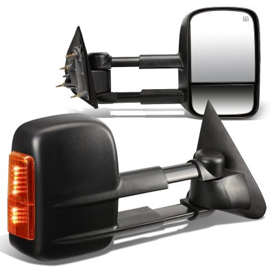 chevy silverado 3500hd 2015 2018 towing mirrors power heated amber signal lights a135362y221. Black Bedroom Furniture Sets. Home Design Ideas