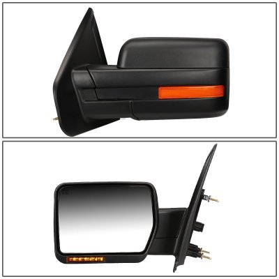 Ford F150 2007-2014 Power Heated LED Signal Side Mirrors