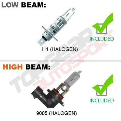 Chevy Silverado 1500 2014-2015 Black DRL Projector Headlights LED Tail Lights Light Bar