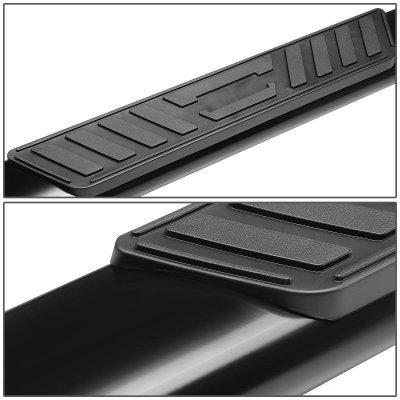 2000 Dodge Ram 1500 Quad Cab Nerf Bars Black 5 Inches Oval