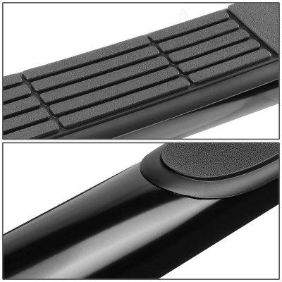 Toyota Tacoma Double Cab 2005-2015 Nerf Bars Black