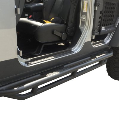 Jeep Wrangler JK 4-Door 2007-2018 Rock Sliders Steps Bars
