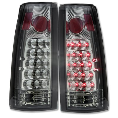 1992 GMC Jimmy Full Size LED Tail Lights Smoked Lenses