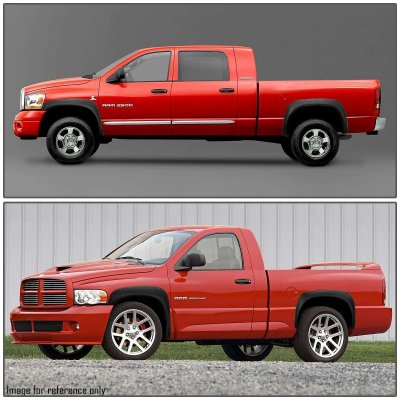 Dodge Ram 1500 2002-2008 Fender Flares Pocket Rivet