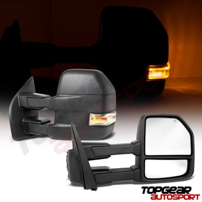 Ford F150 2015-2018 Towing Mirrors Power Heated LED Signal 8 Pins