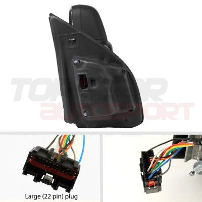 Ford F150 2015-2020 Towing Mirrors Power Heated LED Signal 22 Pins