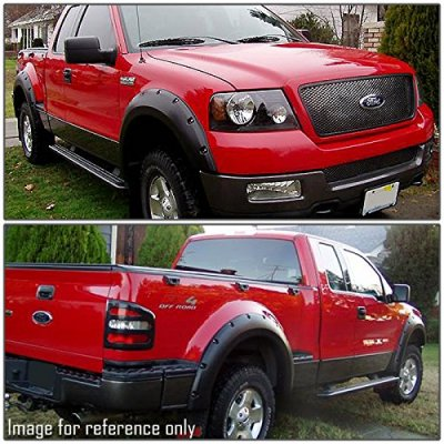 ford f150 2004 2008 fender flares pocket rivet. Black Bedroom Furniture Sets. Home Design Ideas